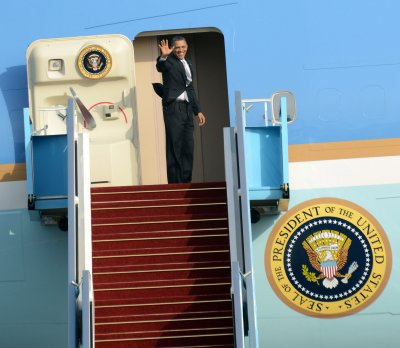 Obama back in D.C. after Middle East trip
