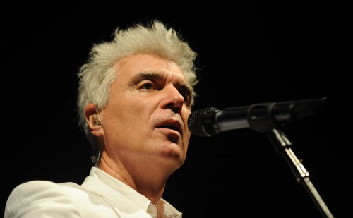 Watch David Byrne's delightful cover of Biz Markie's 'Just a Friend'