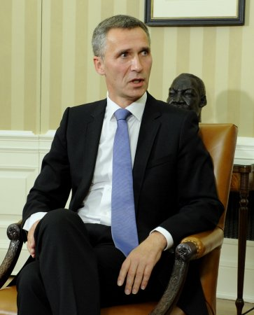 New NATO chief visits Afghanistan