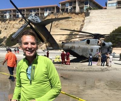 Helicopter's emergency landing puts Kenny Loggins 'in the Danger Zone'