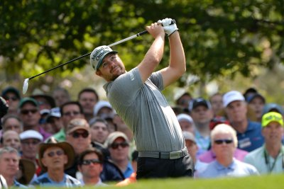 Ryan Moore performing well through two rounds at Bethpage Black