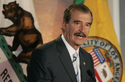 Former Mexican president Fox apologizes for Trump insults, invites billionaire south of the border
