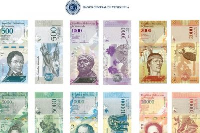 Venezuela's removal of 100 bolivar note causes chaos at banks