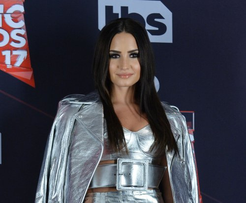 Demi Lovato responds to photo leak: 'It's just cleavage'