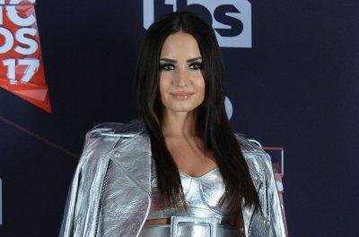 Demi Lovato responds to photo leak: 'It's just cleavage'