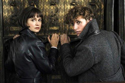 Newt, Tina reunite in 'Grindelwald' photos