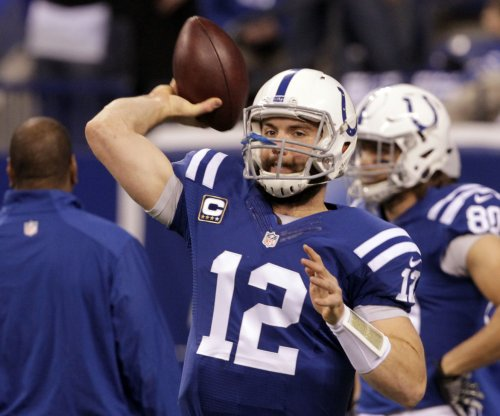 Indianapolis Colts GM Chris Ballard says QB Andrew Luck 'good to go'