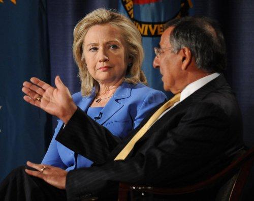 Panetta and Clinton speak in Europe