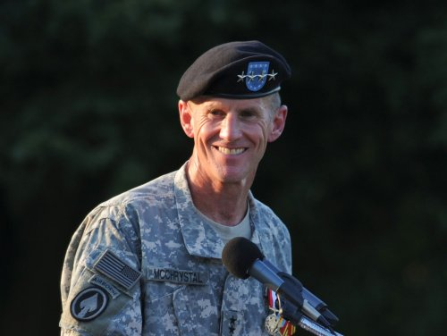 McChrystal talks on leadership