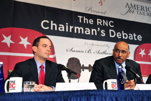 Priebus replaces Steele at RNC