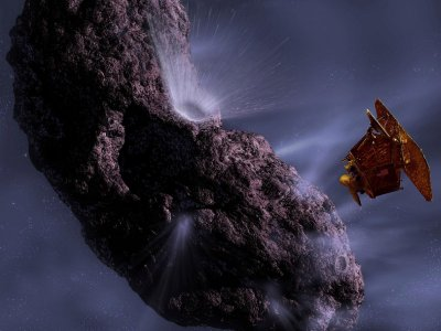 NASA craft on track for comet rendezvous