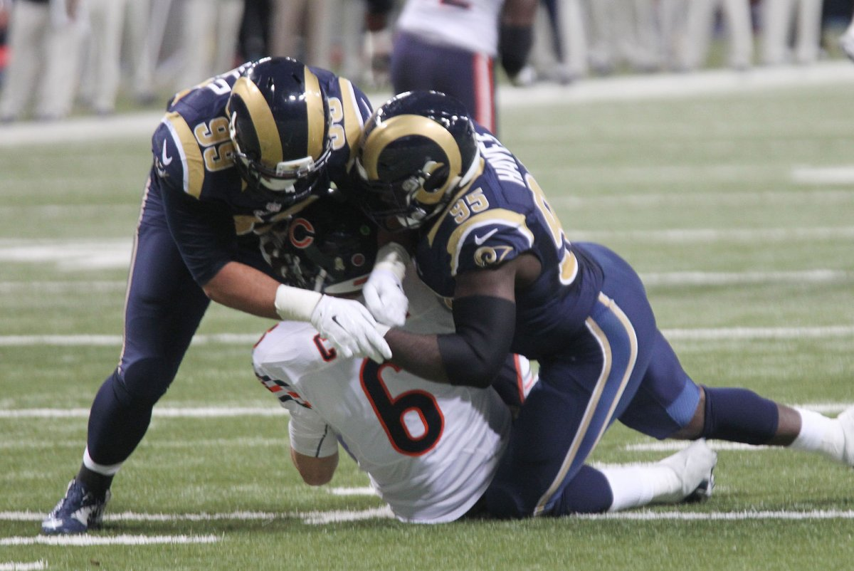 NFL Jerseys Official - Aaron Donald says Los Angeles Rams d-line can be best ever - UPI.com