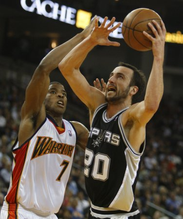 Spurs lose Manu Ginobili to ankle injury