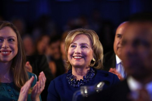 Hillary Clinton stumps for Alison Lundergan Grimes in Kentucky