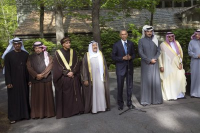 Oil markets relax after Camp David pledges