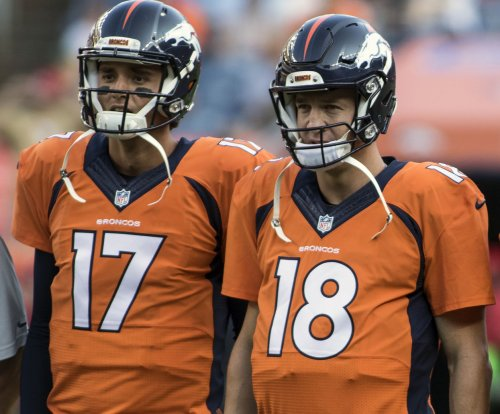 Peyton Manning is back for Denver Broncos as No. 2 QB