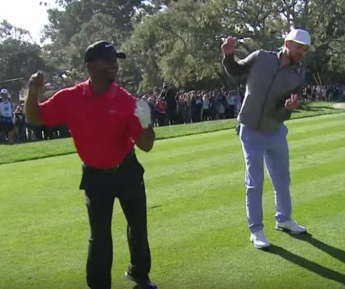 Justin Timberlake and Alfonso Ribeiro do 'The Carlton'