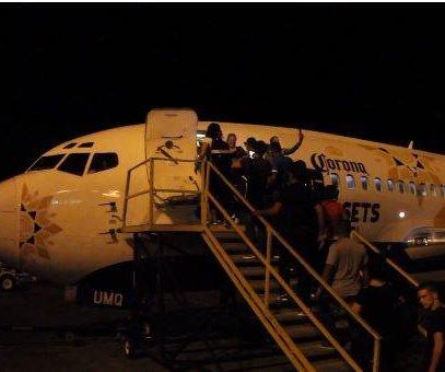 Panama flies 200 Cuban immigrants to U.S.-Mexico border