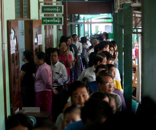 Nine police officers killed in attacks in Myanmar