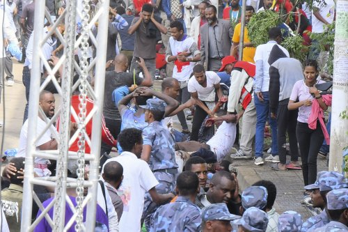 Two die in rally supporting Ethiopian PM
