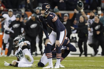 Bears work out K Nick Folk, despite Cody Parkey's deal through 2021