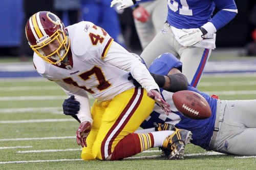 NFL: N.Y. Giants 31, Washington 7