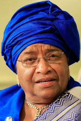 Sirleaf wins with 90.8 pct of votes