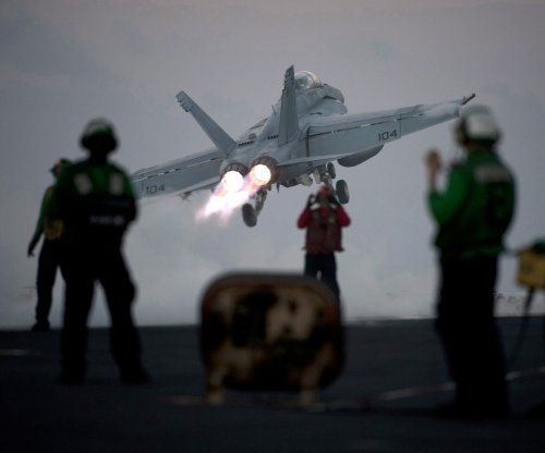 Two U.S. Navy pilots rescued after F-18 Hornet crashes in Persian Gulf