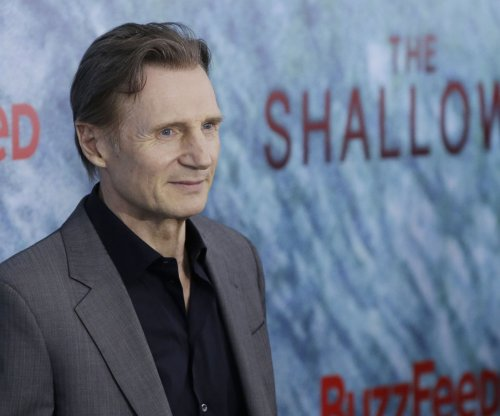 Liam Neeson wore 'a onesie with ping-pong balls attached' to film motion-capture 'Monster' role