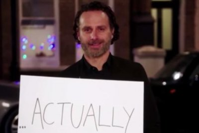 Andrew Lincoln stars in first teaser for 'Love Actually' reunion