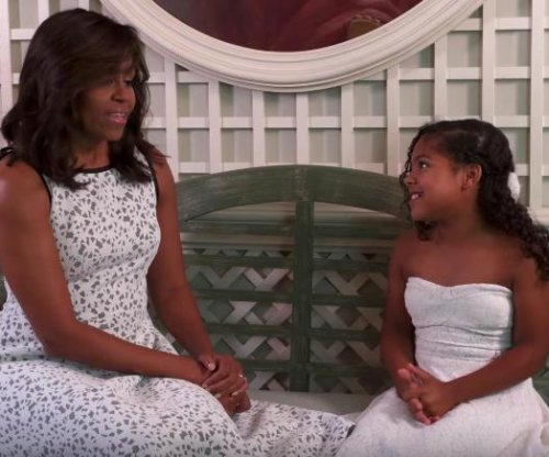 Michelle Obama challenges kids on 'MasterChef Junior'