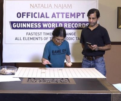 Pakistani 9-year-old breaks Guinness record with periodic table