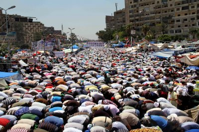 Two killed, dozens hurt in protests across Egypt