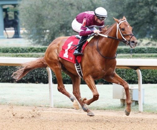 UPI Horse Racing Roundup: Gun Runner means business