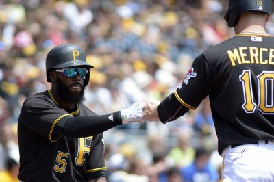 Josh Harrison's hit lifts Pittsburgh Pirates over Milwaukee Brewers in 10