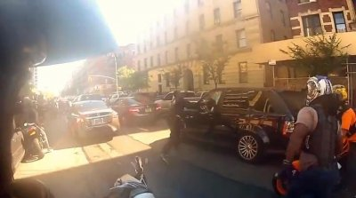NYPD SUV assault: Undercover cop pleads not guilty