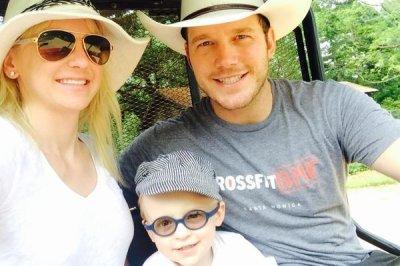 Anna Faris shares cute photo with Chris Pratt, son Jack