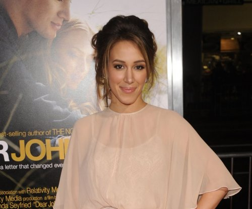 Haylie Duff posts Instagram glimpse of newborn daughter with her dog