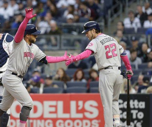 George Springer leads Houston Astros past Oakland Athletics