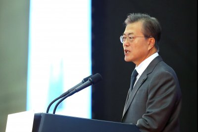 South Korean president increases pressure on parliament to pass bill on constitutional revision