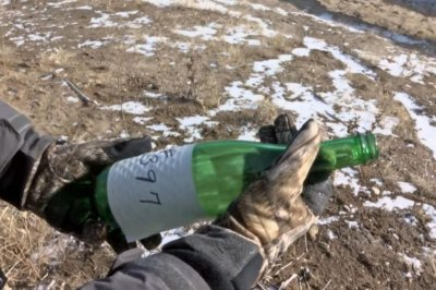 Message in a bottle found in Iowa after nearly 40 years