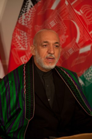 Karzai: All in Afghanistan want peace