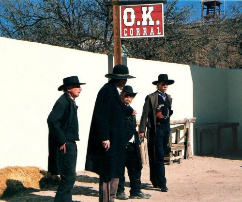 Tombstone reenactor injured by accidental live shot