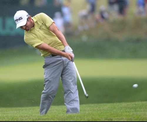 Andrew Landry leads suspended first round in U.S. Open