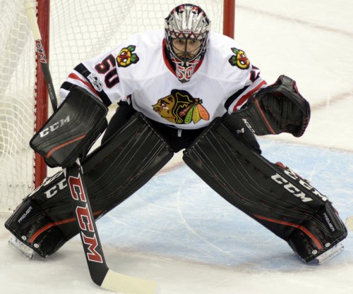 Chicago Blackhawks defeat Columbus Blue Jackets for 50th win
