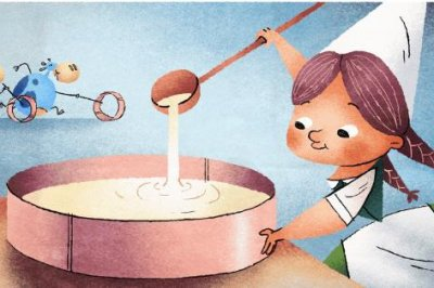Google honors camembert cheese inventor Marie Harel with new Doodles