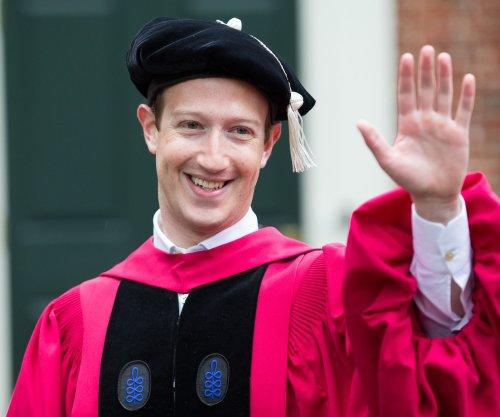 Mark Zuckerberg, Judi Dench receive honorary Harvard degrees