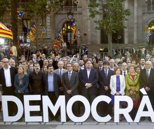 Leaders set Oct. 1 date for Catalonia independence referendum
