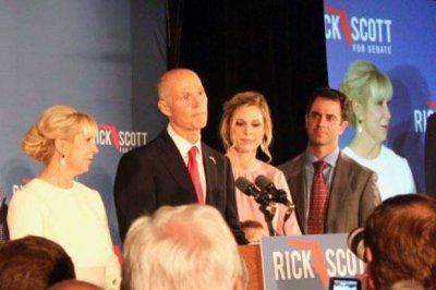 Scott wins Senate seat in Florida after incumbent Nelson concedes