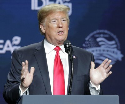 President Donald Trump touts trade deal at Farm Bureau convention